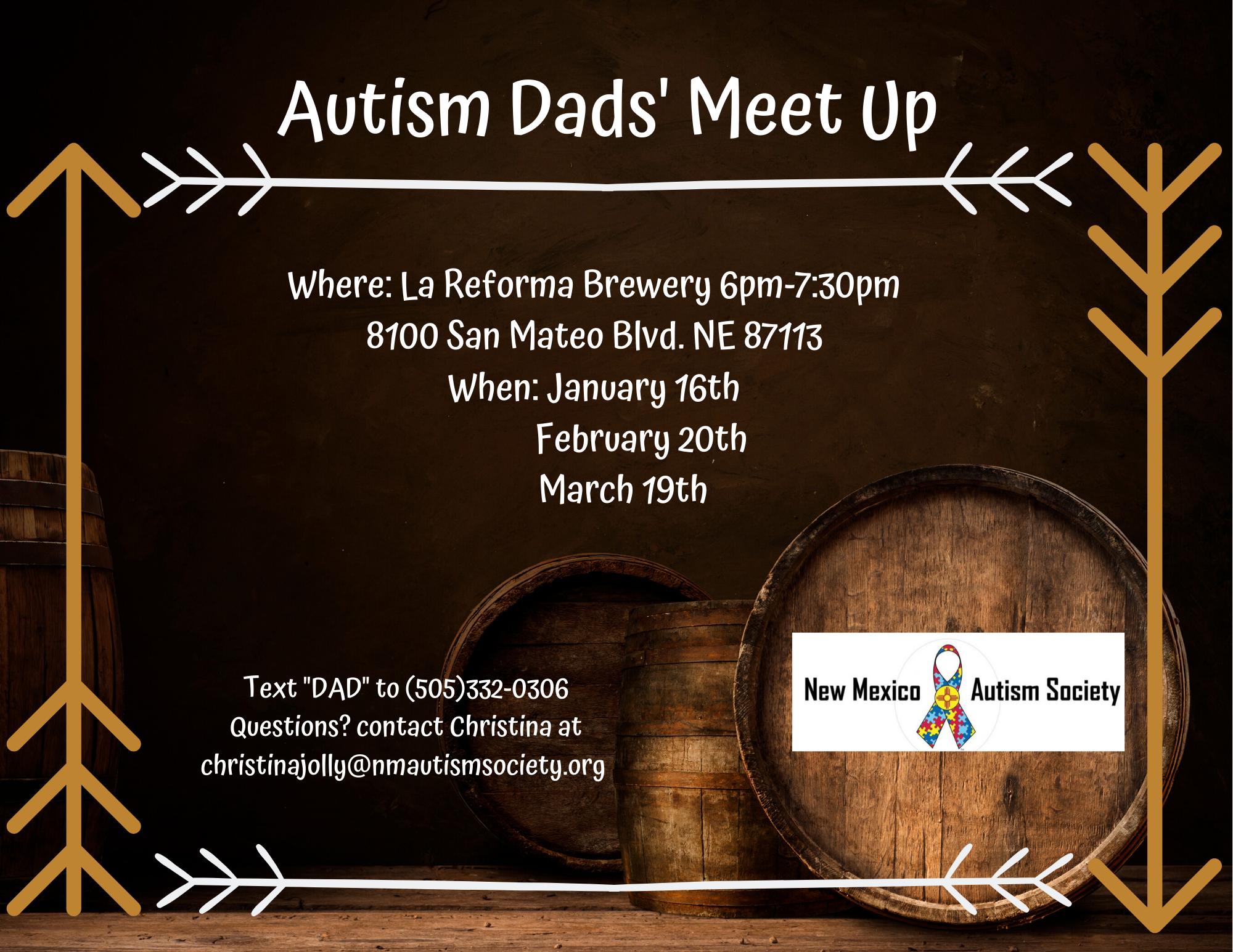 Autism Dads' Meet Up Image