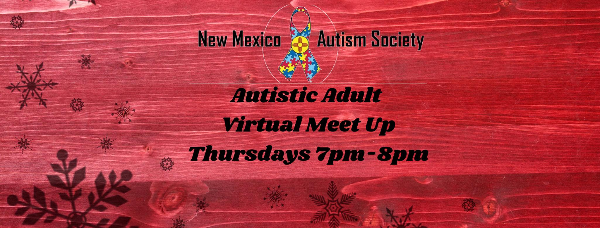 Autistic Adult Virtual Meet Image