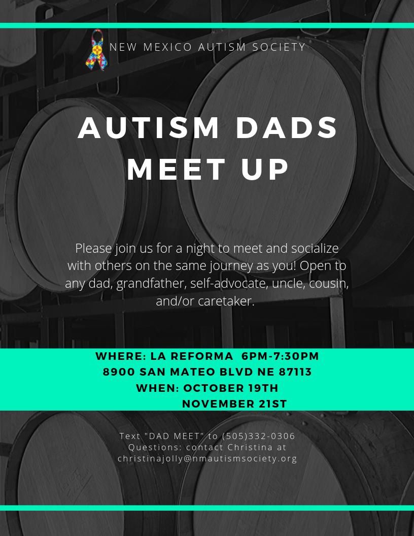 Autism Dads Meet Up Image
