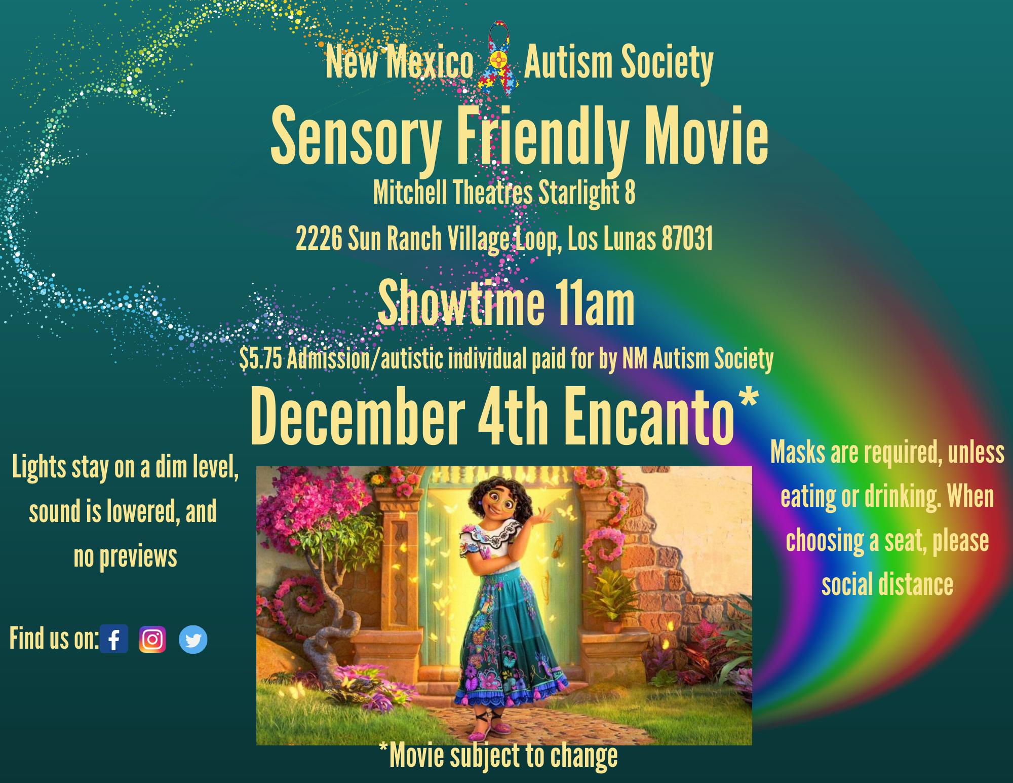 Sensory Friendly Movie - Encanto Image