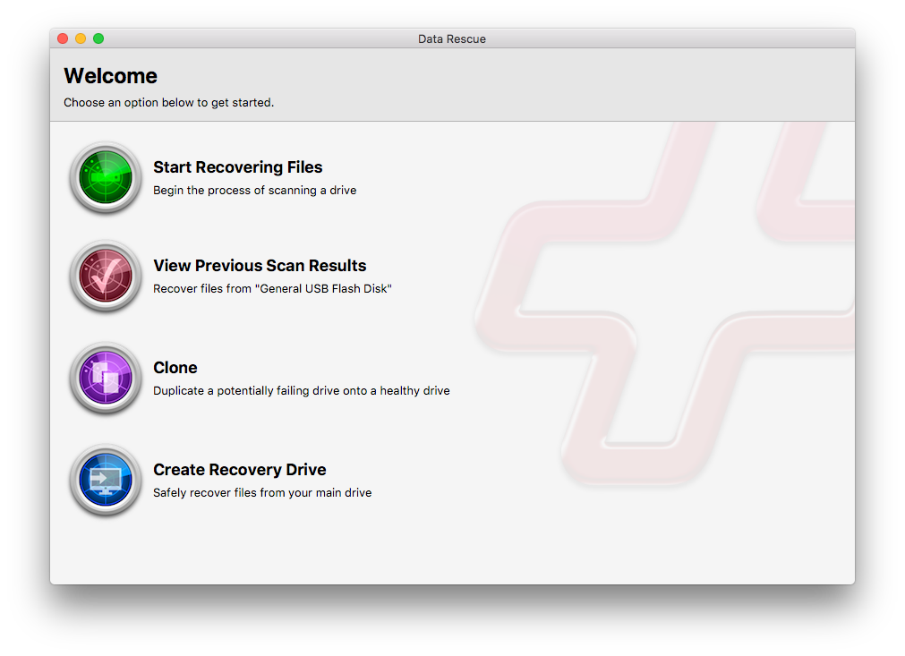 Data Rescue 5 for Mac