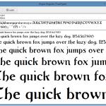 Manage Fonts