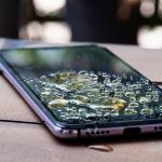 Wet phone tips