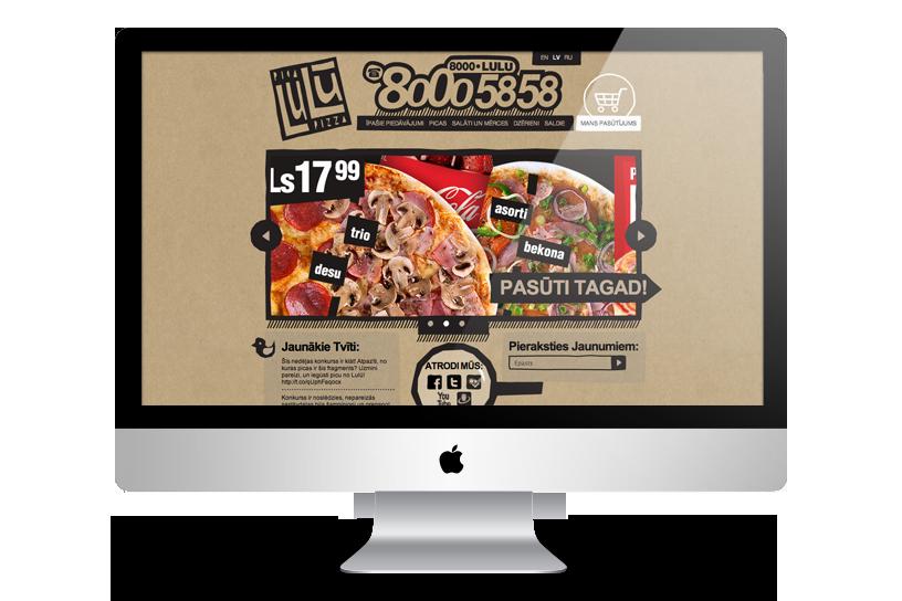 Website development - Pica Lulu