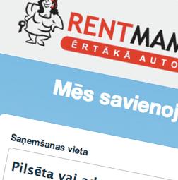 Auto nomas portāls - RentMama.com