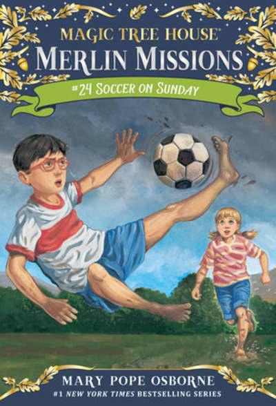 Soccer on Sunday by Mary Pope Osborne, Sal Murdocca