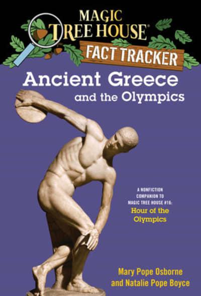 Ancient Greece and the Olympics by Mary Pope Osborne, Natalie Pope Boyce, Sal Murdocca