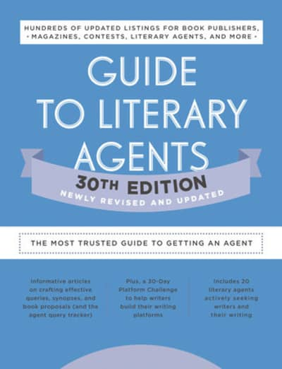 Guide to Literary Agents 30th Edition by Writer's Digest Books