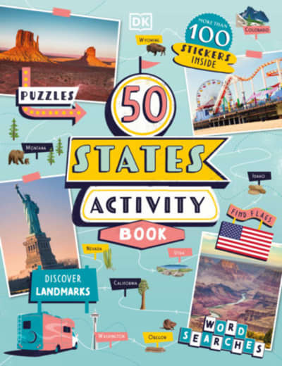50 States Activity Book by DK