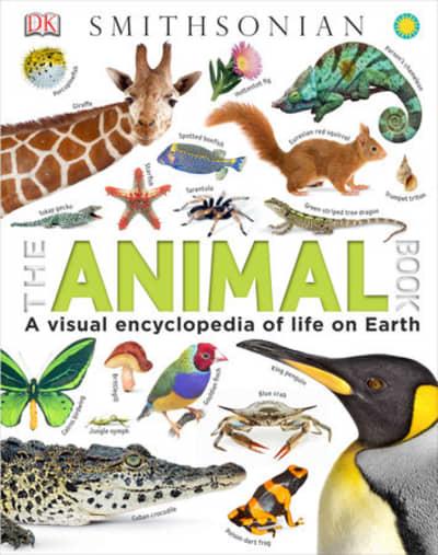 The Animal Book by David Burnie, Smithsonian Institution