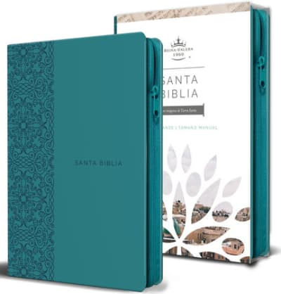 Biblia Reina Valera Manual Aguamarina