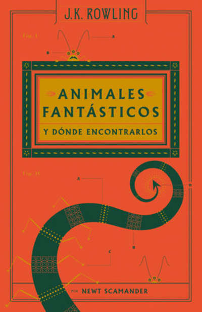 Animales fantásticos y dónde encontrarlos / Fantastic Beasts and Where to Find Them by J.K. Rowling