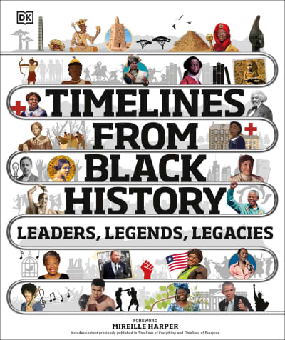 Timelines from Black History by DK, Mireille Harper