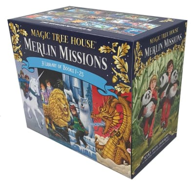 Magic Tree House Merlin Missions Books 1-25 Boxed Set by Mary Pope Osborne