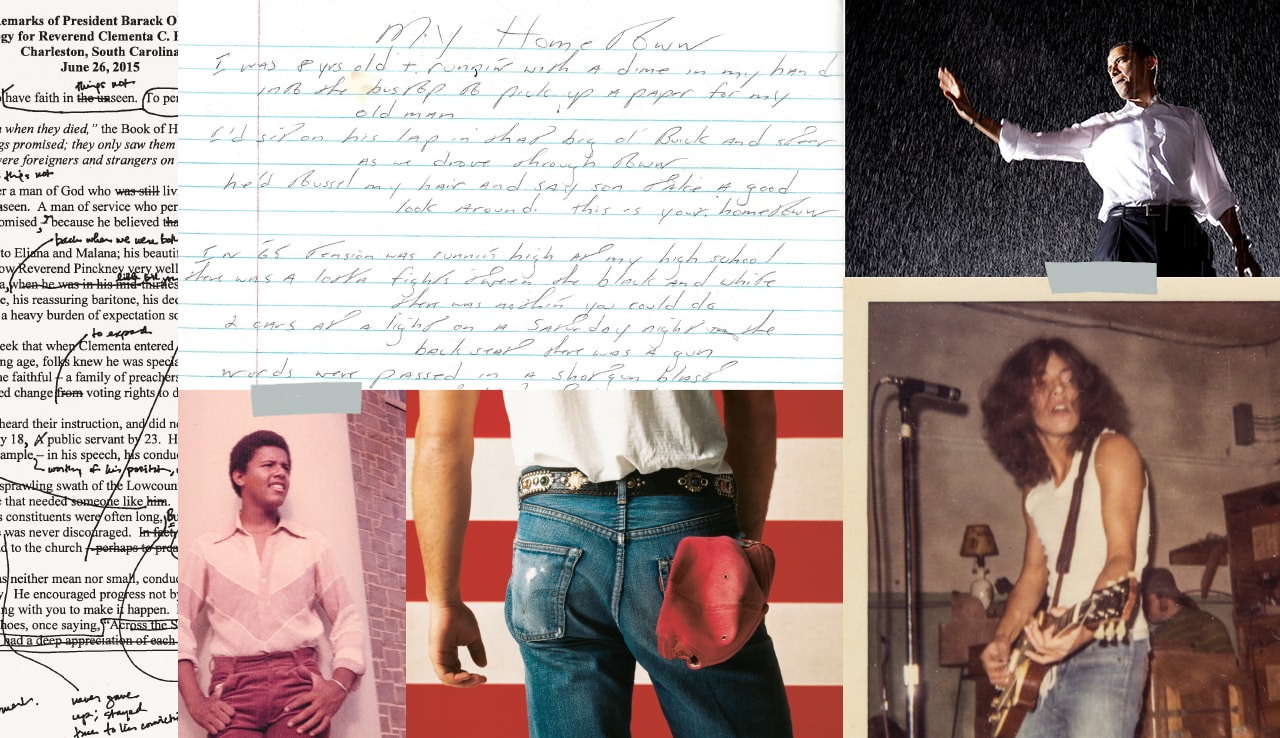 Excerpts from Renegades: Born in the USA by Barack Obama and Bruce Springsteen