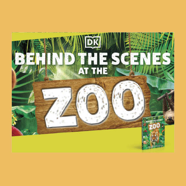 An image of a page from DK's downloadable activity pack with content from Behind the Scenes at the Zoo