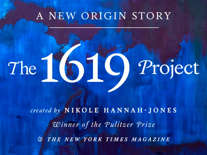 The 1619 Project - signed copies available for preorder now while supplies last