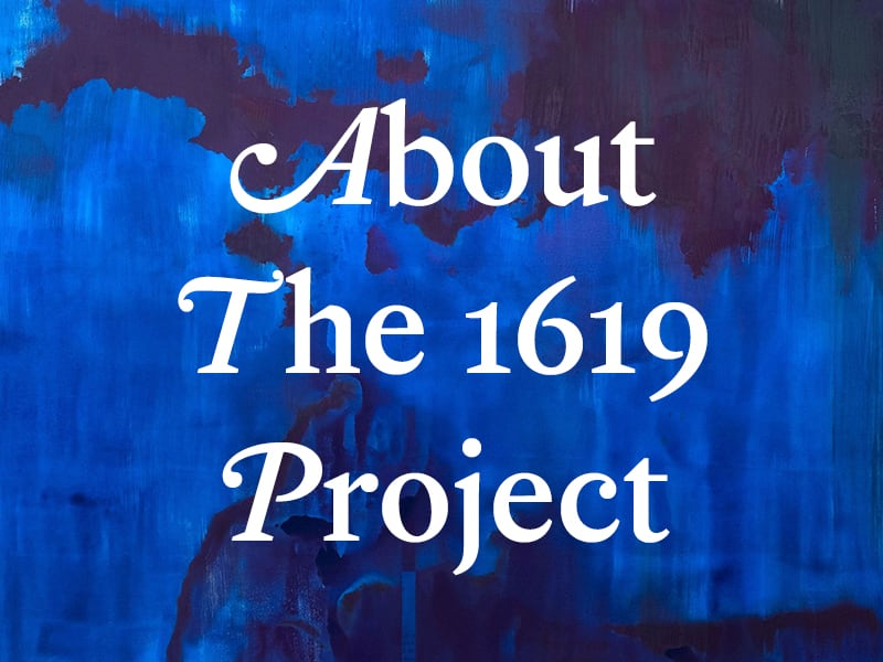 About the 1619 Project