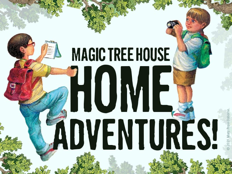 Magic Tree House Home Adventures