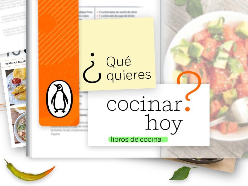 Libros de cocina recomendados