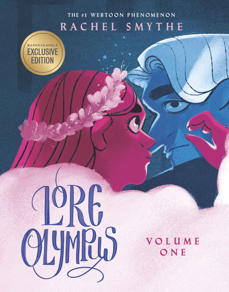 Barnes and Noble exclusive edition of Lore Olympus volume one