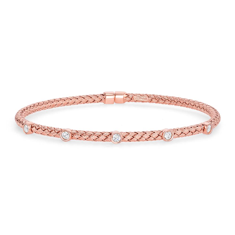 925 Sterling Silver Wheat Style Bracelet