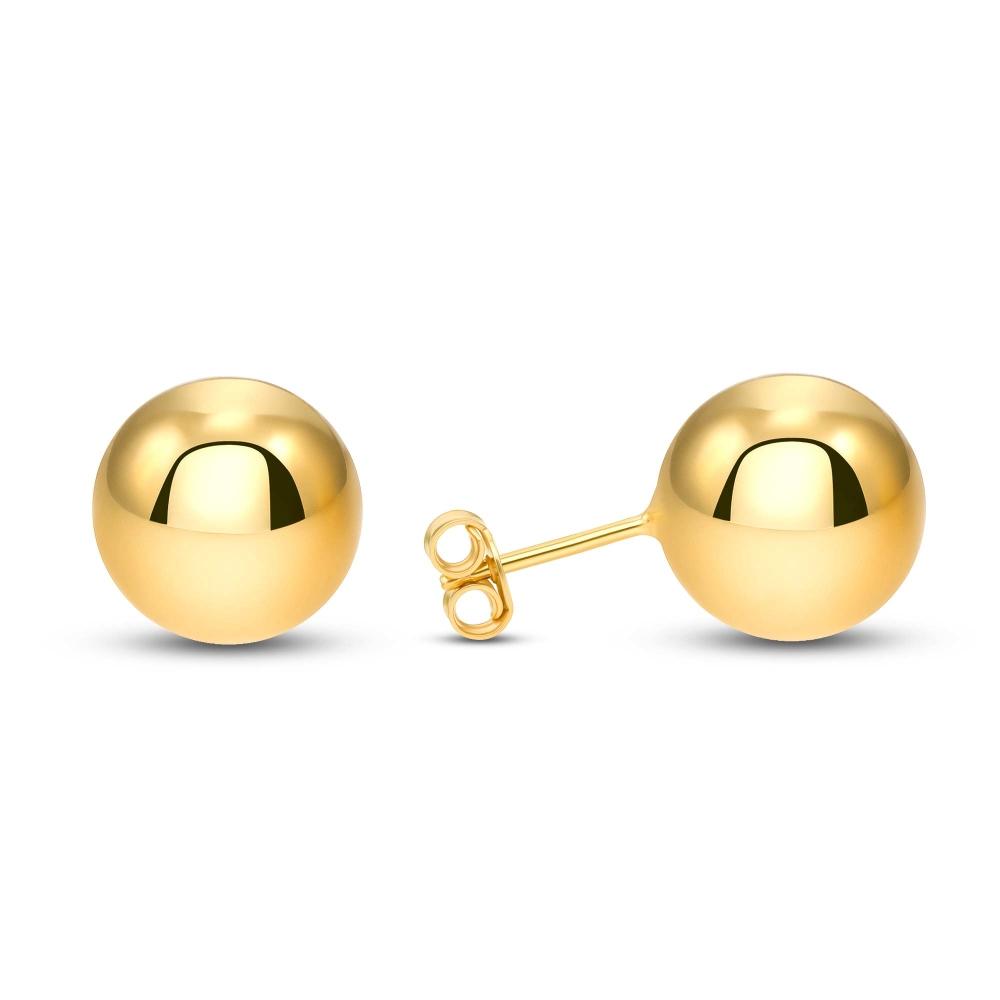 Sterling Silver Ball Stud Earring