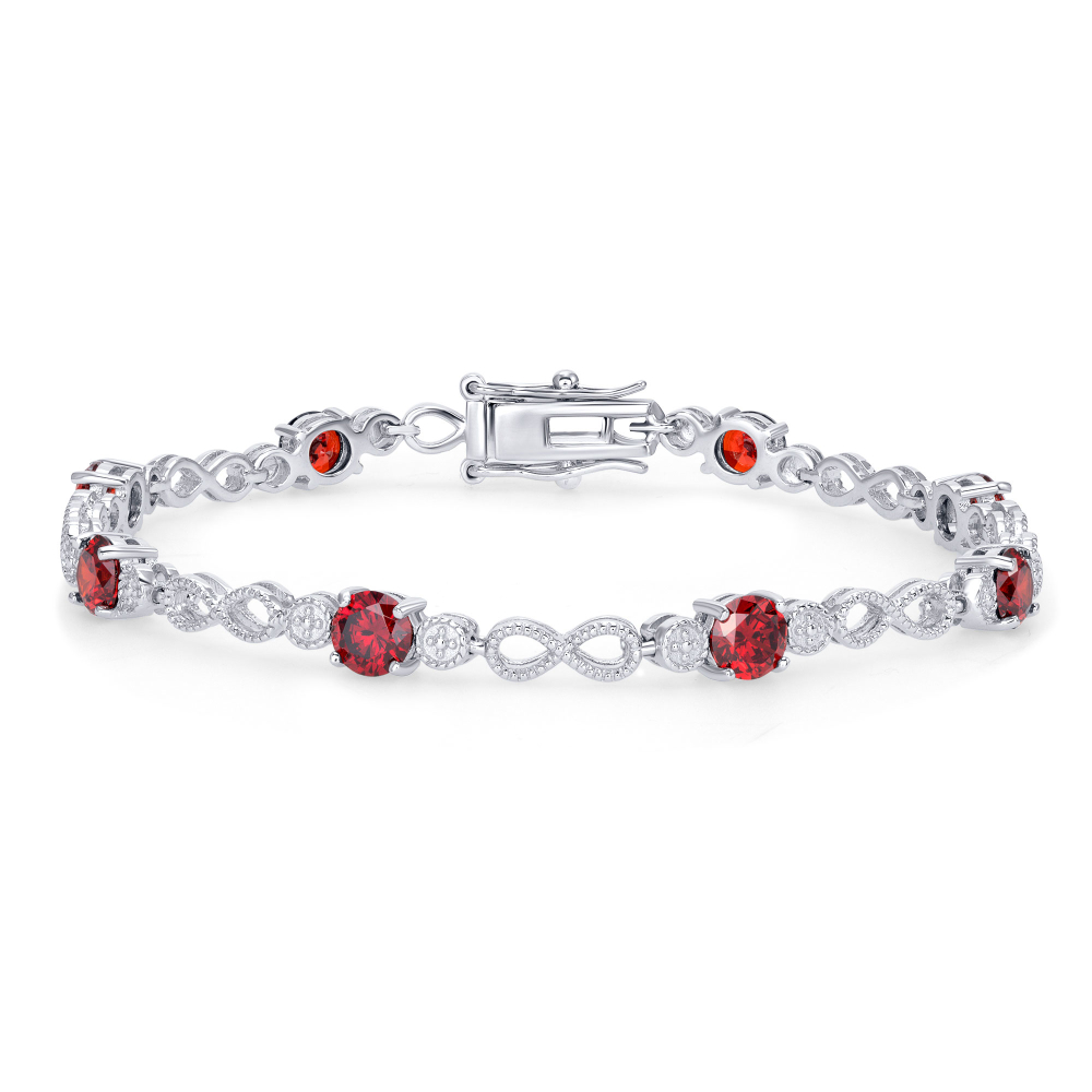 Infiniti Design Tennis Bracelet
