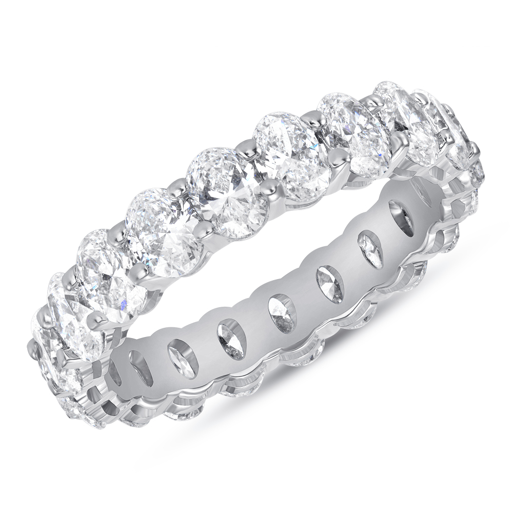 Oval Diamond Eternity Band | Sabrina A Inc