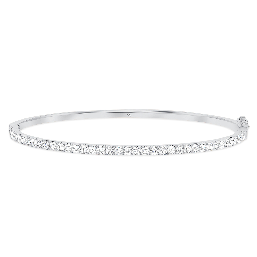 Dainty Diamond Bangle | Sabrina A Inc