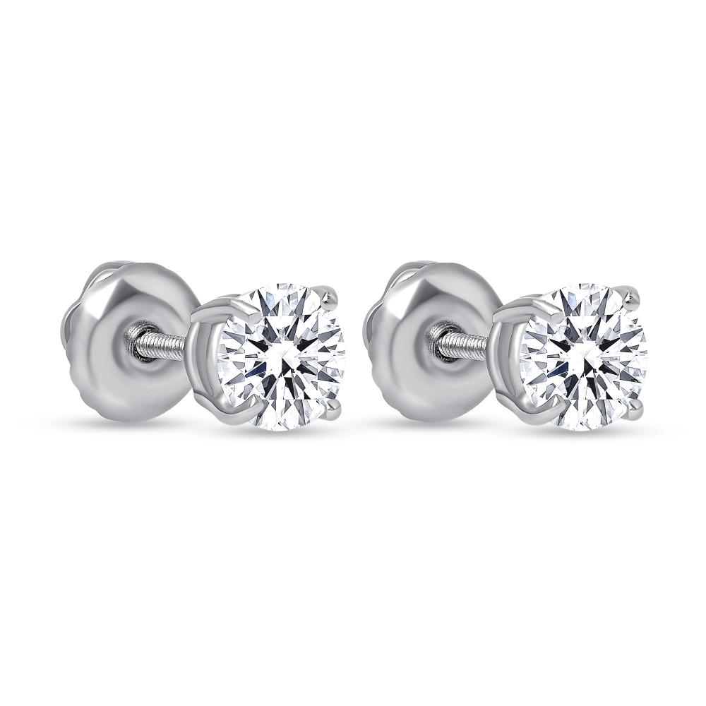 1 ct diamond stud earrings | 1 10 ct tw diamond stud earrings