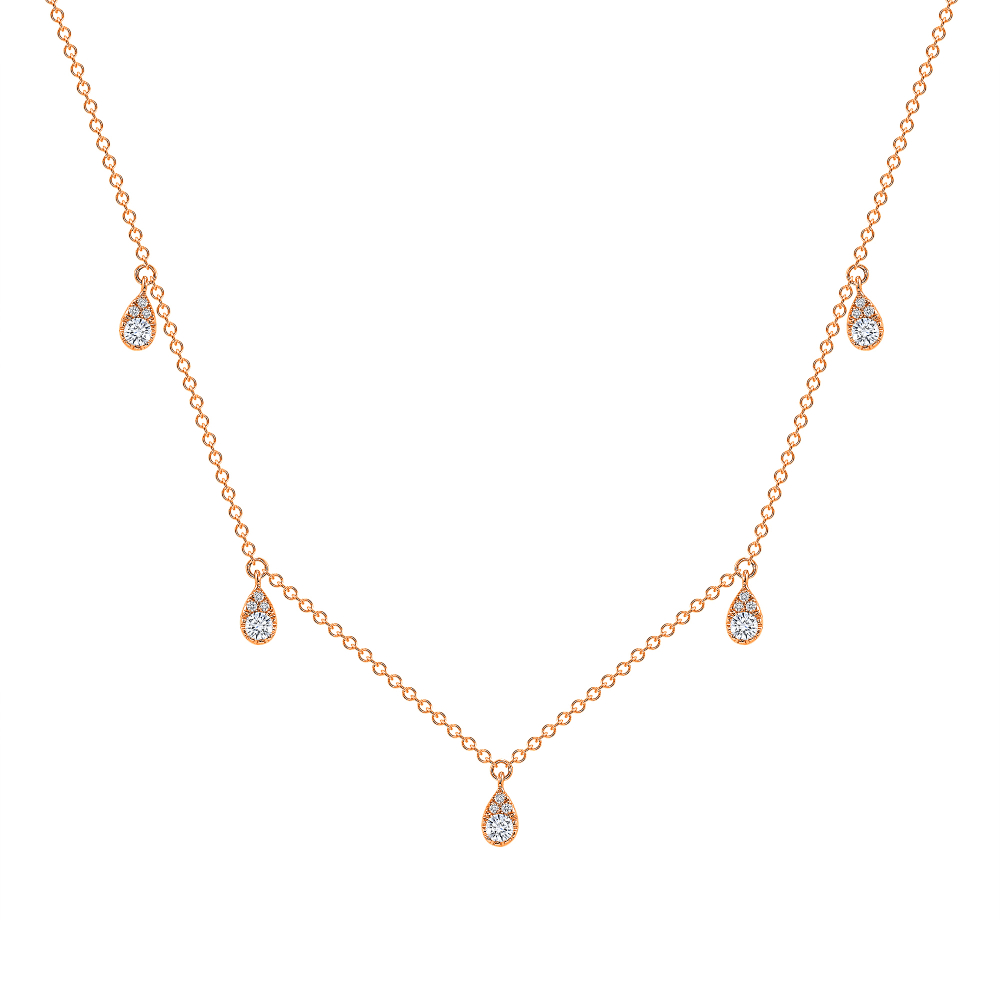 diamond station necklace | diamond station necklace white gold