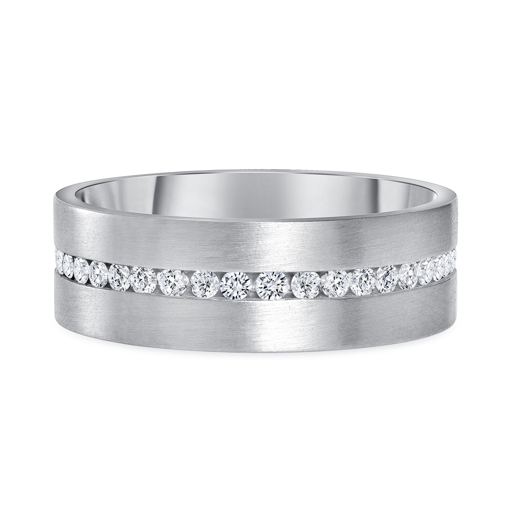 white gold diamond eternity band | Diamond Collection Inc