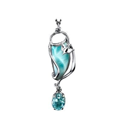 larimar necklace