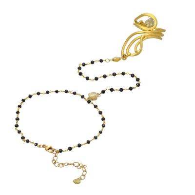 Nouveau Black Dancing Bracelet