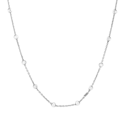 Sterling Silver 3mm Round Moon Cut Bead Chain