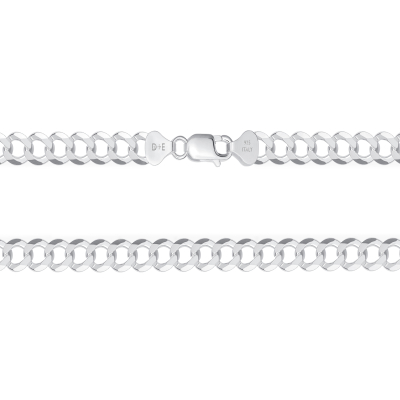 925 Sterling Silver Cuban Chain