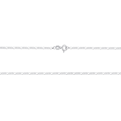 925 Sterling Silver Figaro Chain