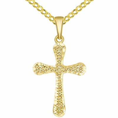 3d cross pendant | 3d christian cross pendant | 3d cross pendant gold