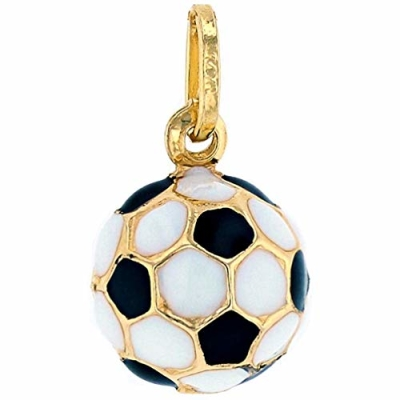Sports by Jewelry America 14k Gold 3D Soccer Ball Charm Pendant