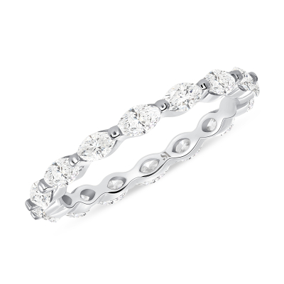 Marquise Eternity Band  | Sabrina A Inc