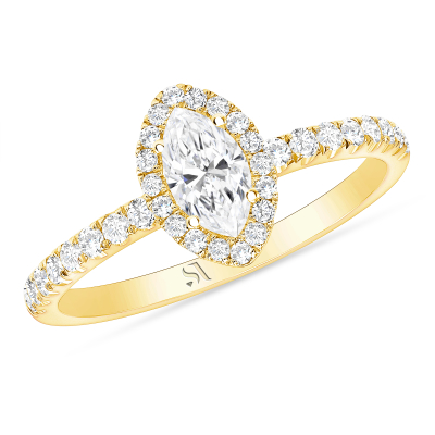 marquise diamond ring with halo | marquise halo ring