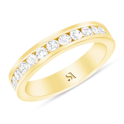 wedding band channel setting
