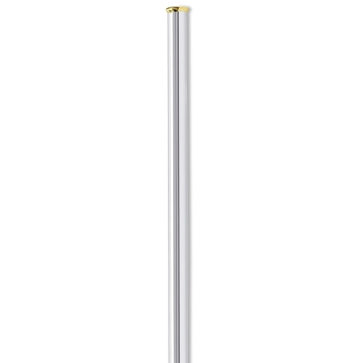 18k Gold Tipped Silver Cocktail Straw