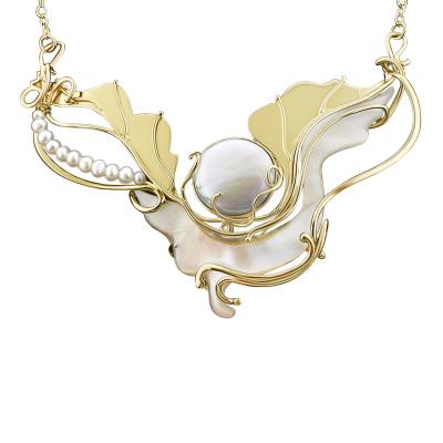 Moonlight Sea Necklace