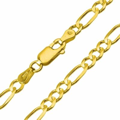 14K Yellow Gold Alligator Charm Animal Pendant