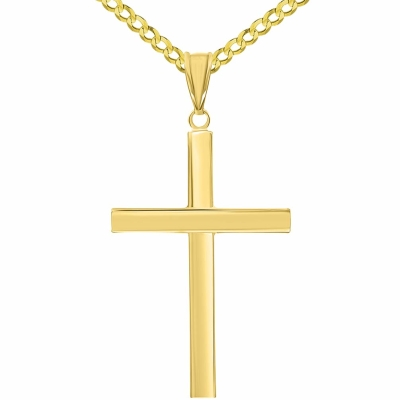 Traditional Cross Pendant