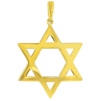 star of david pendant | gold star of david charms