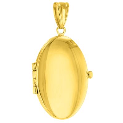 oval locket pendant