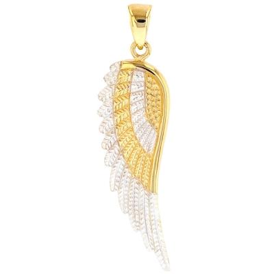 Angel Wing Charm Pendant